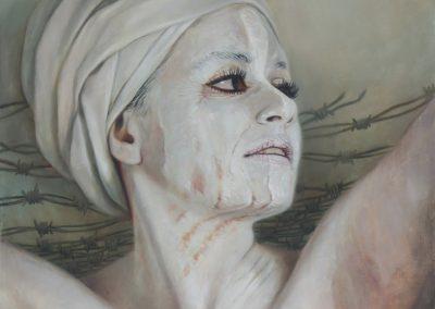 Autoliberación, óleo sobre tela, 50 x 60 cm, 2014