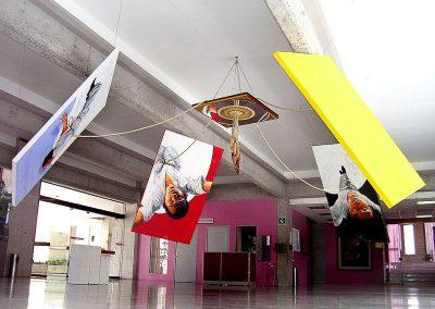 Danza de la fertilidad (instalación), técnica mixta, medidas variables, 2007