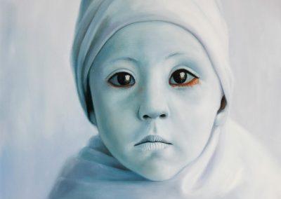 Esperanza anhelada, óleo sobre tela, 100 x 80 cm, 2012