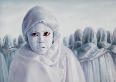 Mi destino, óleo sobre tela, 100 x 80 cm, 2012