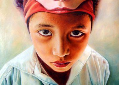 Mi otro sueño, óleo sobre tela, 80 x 100 cm, 2010