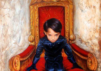 Retrato del poder, óleo sobre tela, 80 x 100 cm, 2010