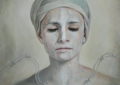 Templanza, óleo sobre tela, 50 x 60 cm, 2014