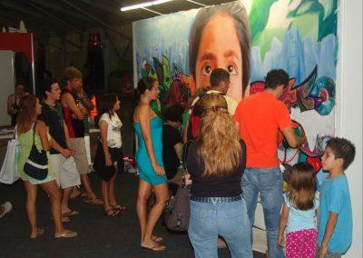 Esperanza climática, mural colectivo creado en la COP 16 de Cancún, Quintana Roo 1