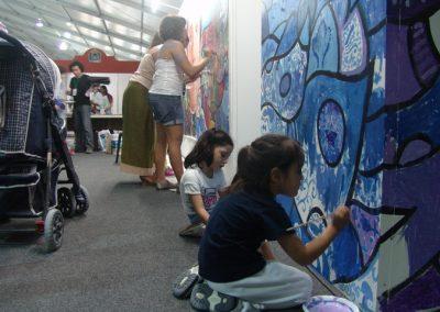 Esperanza climática, mural colectivo creado en la COP 16 de Cancún, Quintana Roo 11