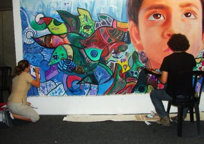 Esperanza climática, mural colectivo creado en la COP 16 de Cancún, Quintana Roo 14