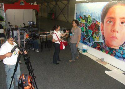 Esperanza climática, mural colectivo creado en la COP 16 de Cancún, Quintana Roo 16