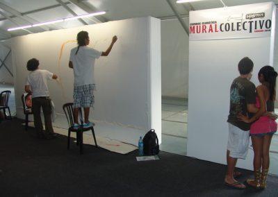 Esperanza climática, mural colectivo creado en la COP 16 de Cancún, Quintana Roo 17