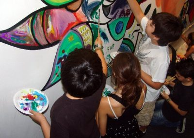 Esperanza climática, mural colectivo creado en la COP 16 de Cancún, Quintana Roo 18