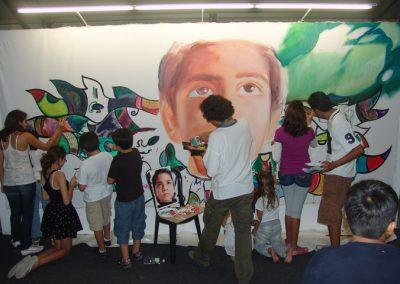 Esperanza climática, mural colectivo creado en la COP 16 de Cancún, Quintana Roo 19