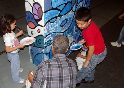Esperanza climática, mural colectivo creado en la COP 16 de Cancún, Quintana Roo 2