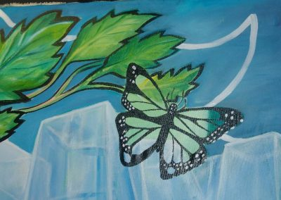 Esperanza climática, mural colectivo creado en la COP 16 de Cancún, Quintana Roo 20