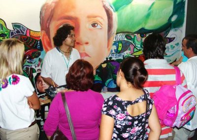 Esperanza climática, mural colectivo creado en la COP 16 de Cancún, Quintana Roo 3