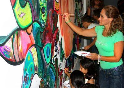 Esperanza climática, mural colectivo creado en la COP 16 de Cancún, Quintana Roo 5