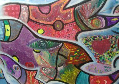 Esperanza climática, mural colectivo creado en la COP 16 de Cancún, Quintana Roo 6