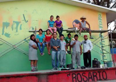 002 Mural Telesecundaria Rosario Castellanos, Veracruz, Veracruz, 2014
