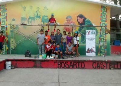 003 Mural Telesecundaria Rosario Castellanos, Veracruz, Veracruz, 2014