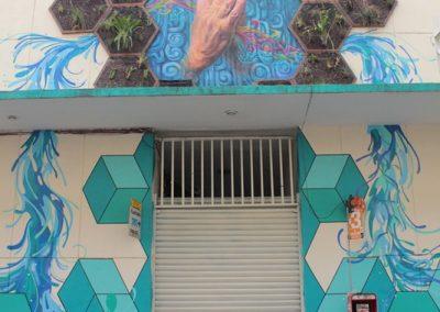 003 Padre Mercado, Madre de siglos, intervención artística en el Mercado Jáureguim Xalapa, Veracruz