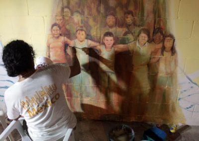 004 Raíces somos, mural colectivo, Acapulco,Guerrero, 2014