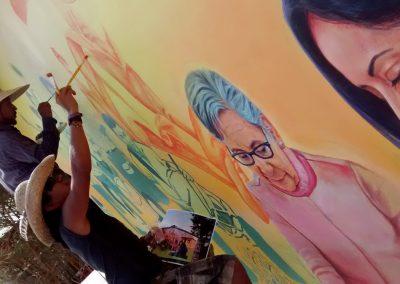 005 Mural Telesecundaria Rosario Castellanos, Veracruz, Veracruz, 2014