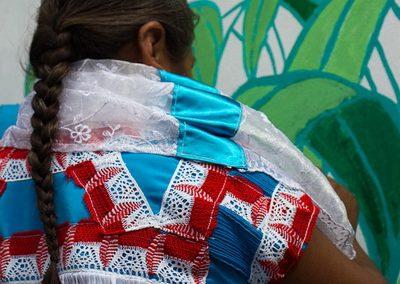 005 Mural colectivo La mano vuelta a la salud, Filomeno Mata, Veracruz