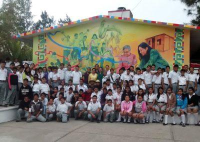 006 Mural Telesecundaria Rosario Castellanos, Veracruz, Veracruz, 2014