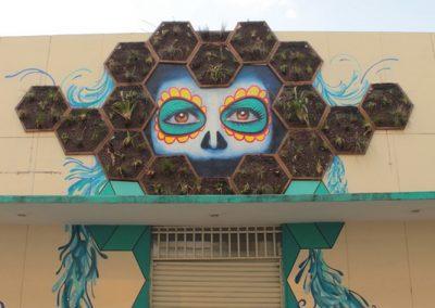 006 Padre Mercado, Madre de siglos, intervención artística en el Mercado Jáureguim Xalapa, Veracruz
