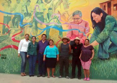 007 Mural Telesecundaria Rosario Castellanos, Veracruz, Veracruz, 2014