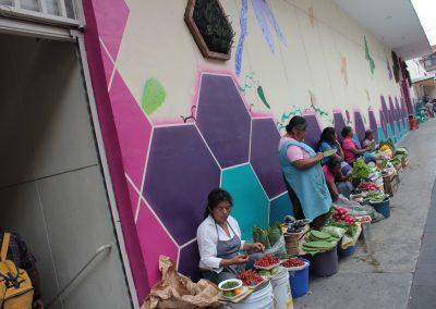 009 Padre Mercado, Madre de siglos, intervención artística en el Mercado Jáureguim Xalapa, Veracruz