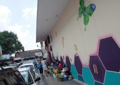 010 Padre Mercado, Madre de siglos, intervención artística en el Mercado Jáureguim Xalapa, Veracruz