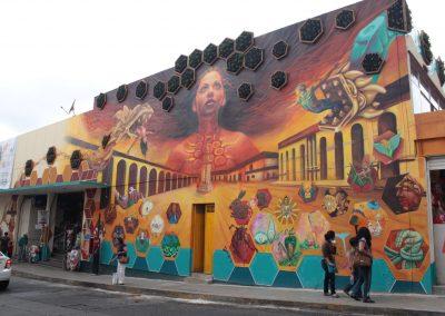 019 Padre Mercado, Madre de siglos, intervención artística en el Mercado Jáureguim Xalapa, Veracruz