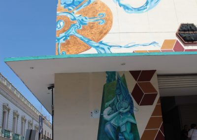 022 Padre Mercado, Madre de siglos, intervención artística en el Mercado Jáureguim Xalapa, Veracruz