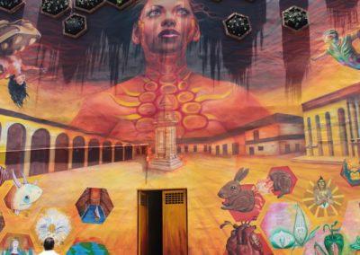 029 Padre Mercado, Madre de siglos, intervención artística en el Mercado Jáureguim Xalapa, Veracruz