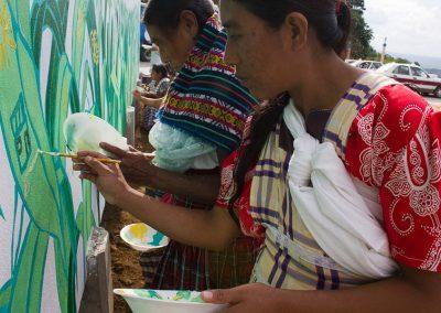 031 Mural colectivo La mano vuelta a la salud, Filomeno Mata, Veracruz